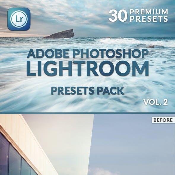 30 Premium Lightroom Presets  Vol. 2