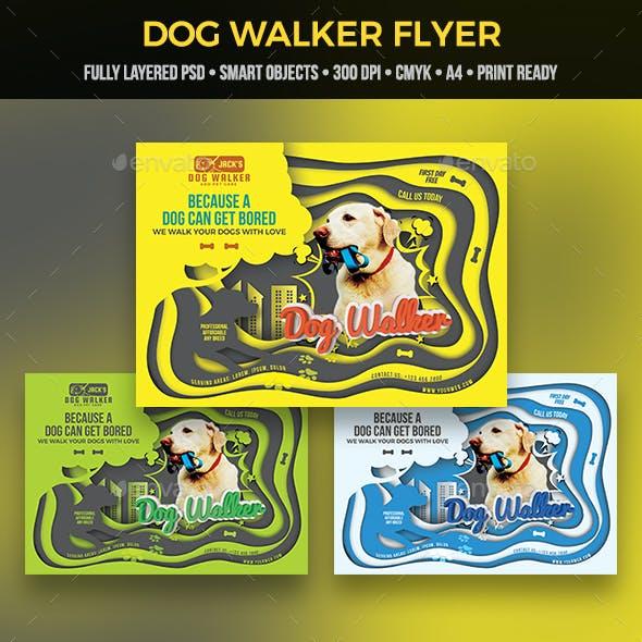Dog Walker Flyer