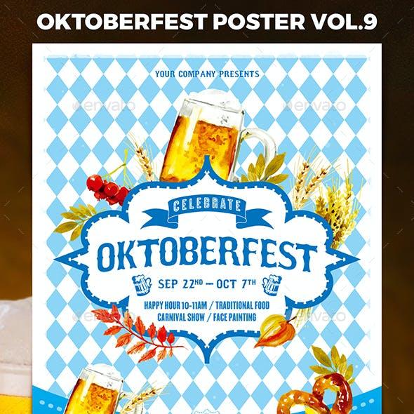 Oktoberfest Festival Poster vol.9