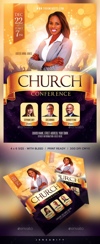 Church Flyer - Events Flyers
