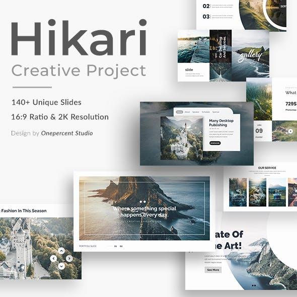 Hikari Creative Powerpoint Template