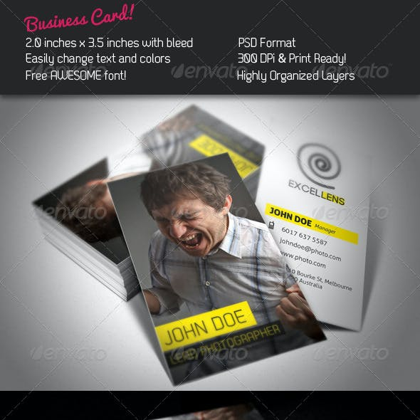 Excellens Business Card