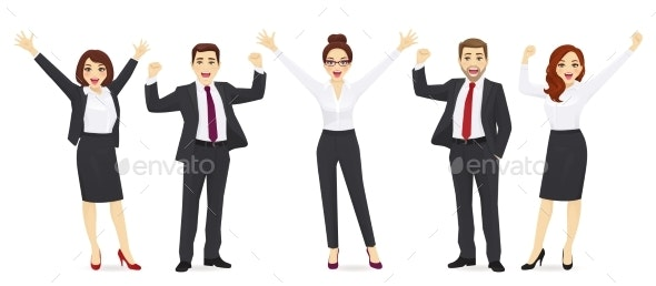 Business Happy People - Business Conceptual