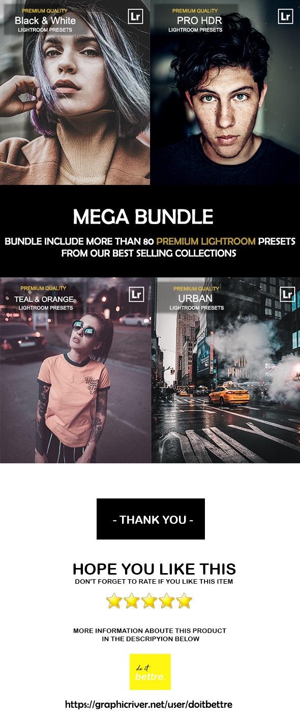 Mega Bundle Lightroom Presets - Lightroom Presets Add-ons