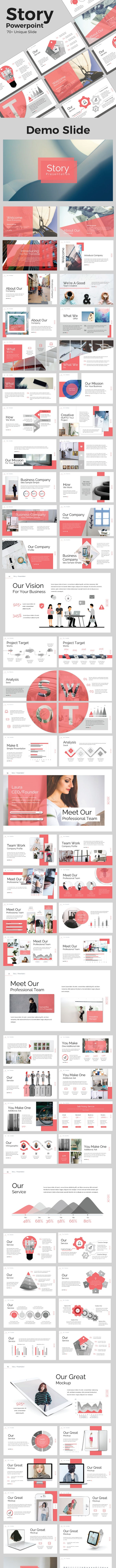 Story Powerpoint - Business PowerPoint Templates