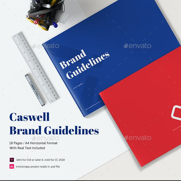 Caswell A4 Brand Guidelines Template