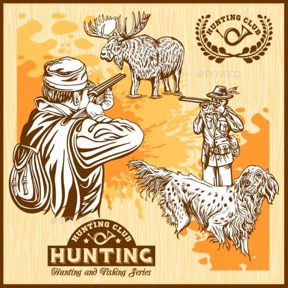 Moose Hunting and Hunting Dog