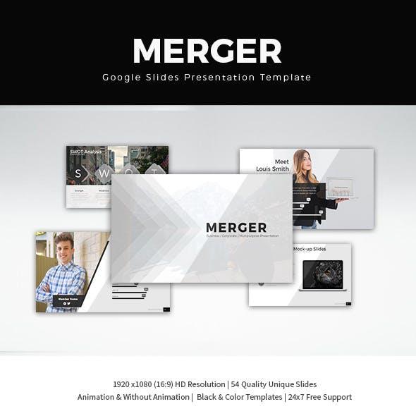 Merger Google Slide Presentation