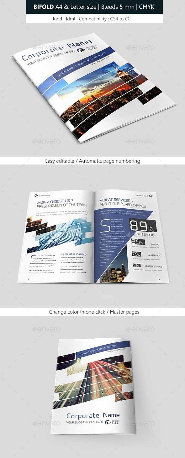 Corporate Bifold - Corporate Brochures