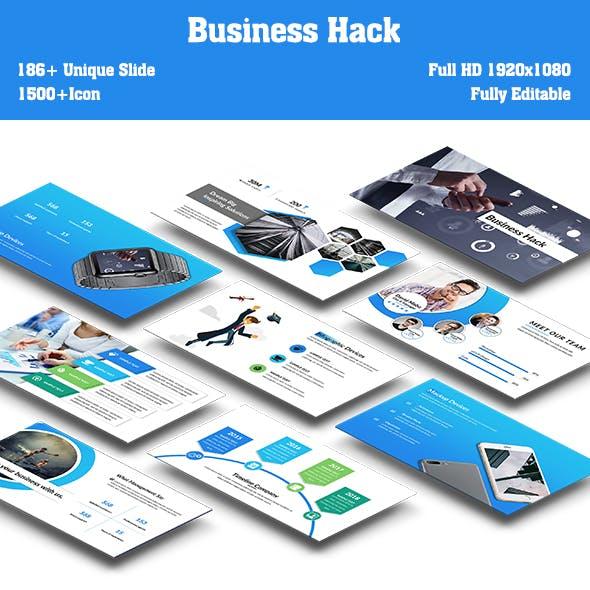 Business Hack Keynote Template