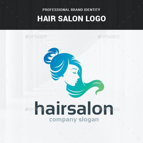 Hair Salon - Female Logo