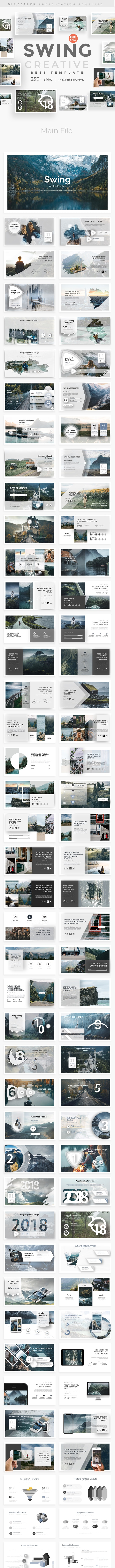 Swing Creative Powerpoint Template - Creative PowerPoint Templates