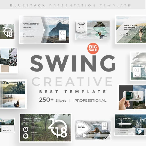 Swing Creative Powerpoint Template
