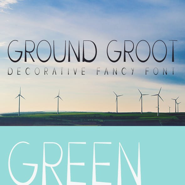 Ground Groot - Font