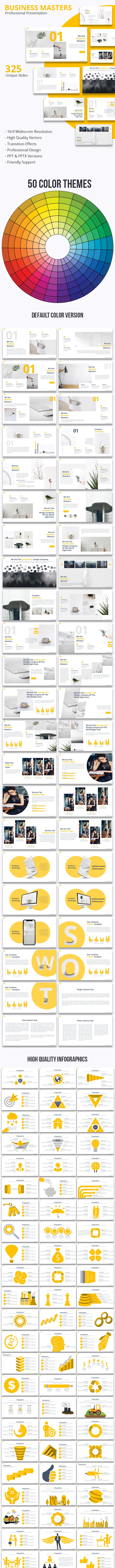 Business Masters - Multipurpose Powerpoint Presentation - Business PowerPoint Templates