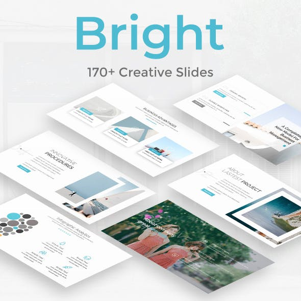 Bright Creative Powerpoint Template