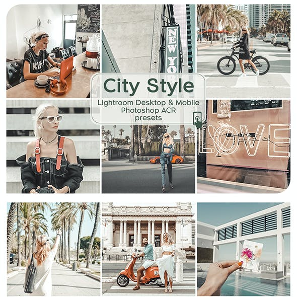 City Style Lightroom Desktop and Mobile Preset