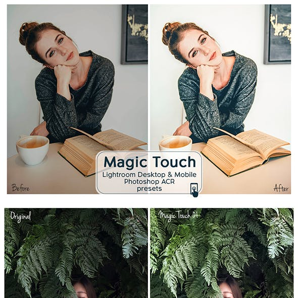 Magic Touch Lightroom Desktop and Mobile Presets
