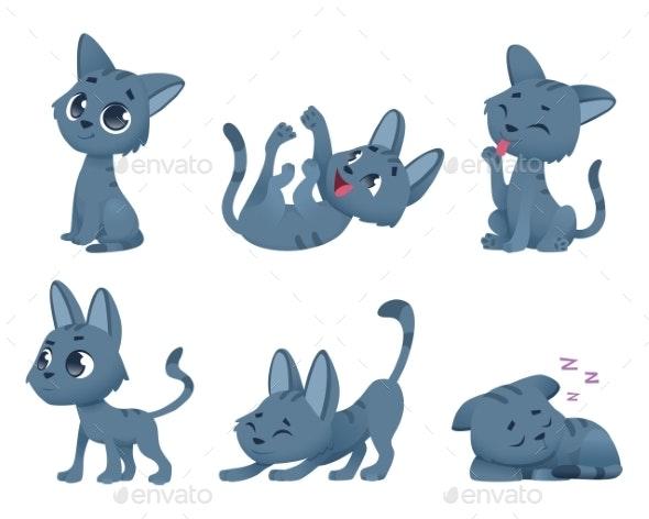 Baby Cats - Characters Vectors