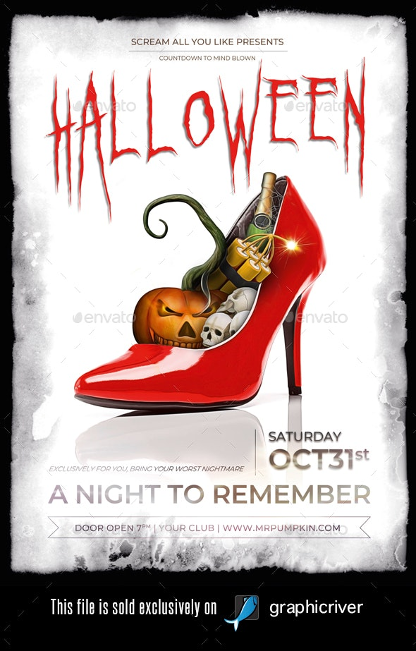 Halloween Flyer/Poster Vol.03 - Flyers Print Templates