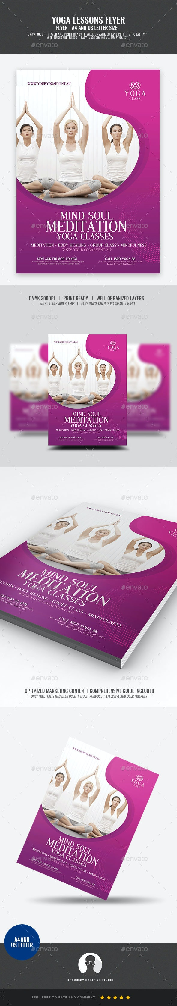 Yoga Event Flyer - Corporate Flyers