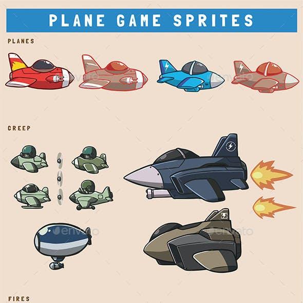 Battle Planes Game Asset