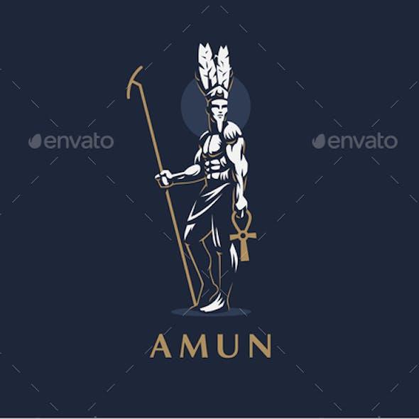 The Egyptian God Amun