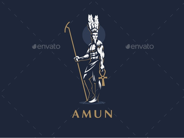 The Egyptian God Amun - People Characters