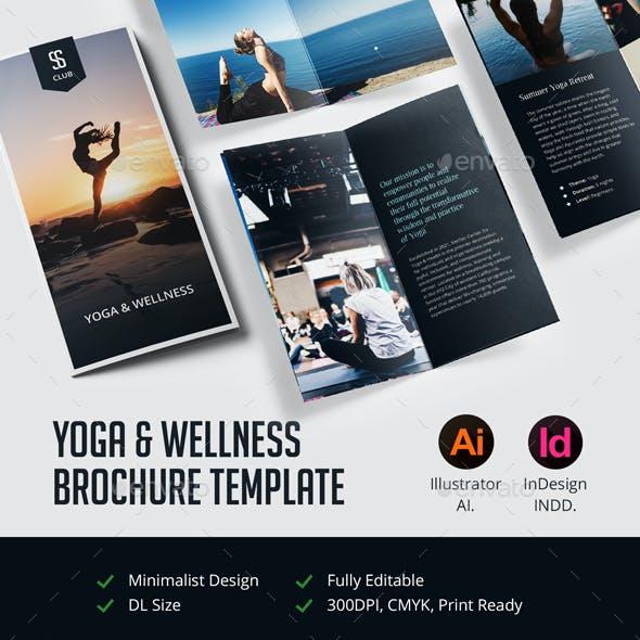 Yoga & Wellness Brochure Template