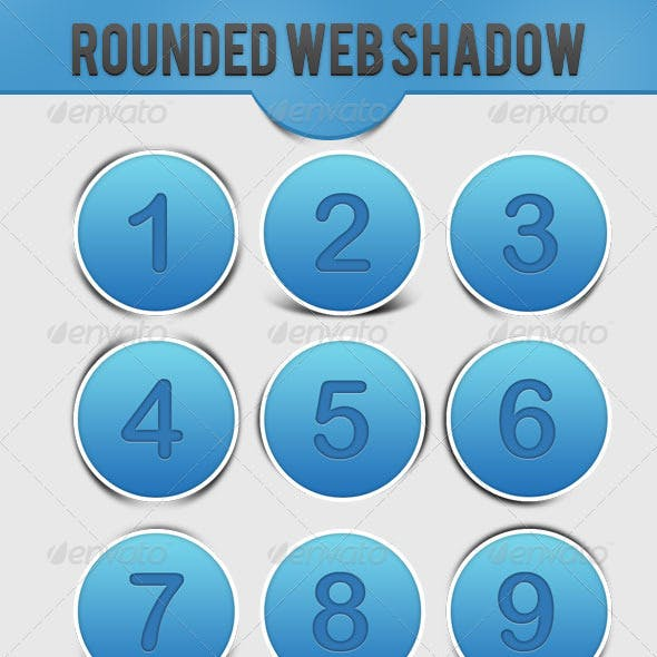 Rounded Web Shadow
