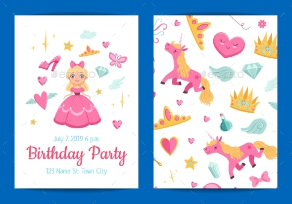 Vector Magic and Fairytale Birthday Party - Miscellaneous Vectors