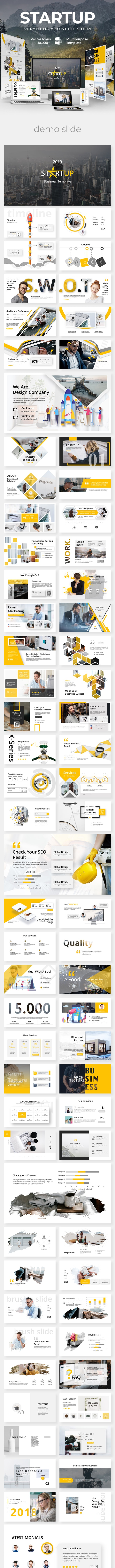 Starup Business Creative Powerpoint Template - Business PowerPoint Templates