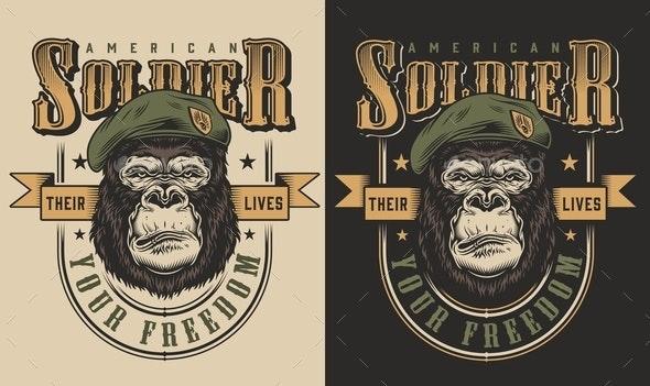 Gorilla - Miscellaneous Vectors