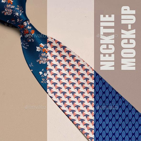 Necktie Mock-up - Miscellaneous Apparel