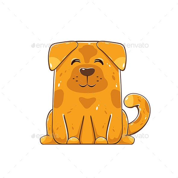 Brown Dog - Animals Characters