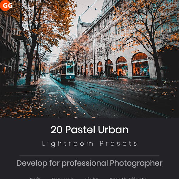 20 Pastel Urban Lightroom Preset