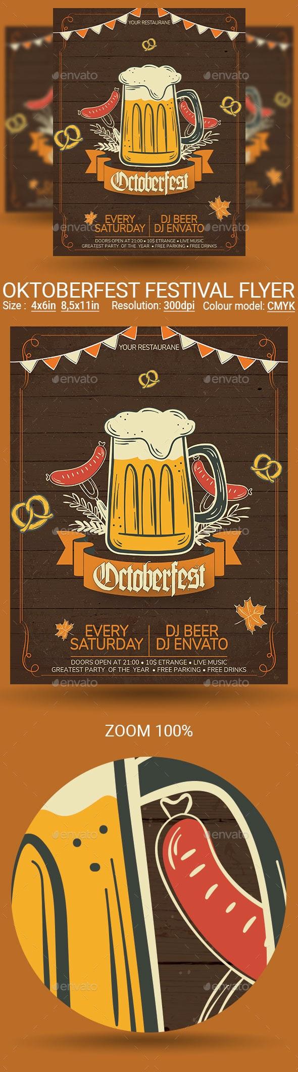 Oktoberfest - Events Flyers