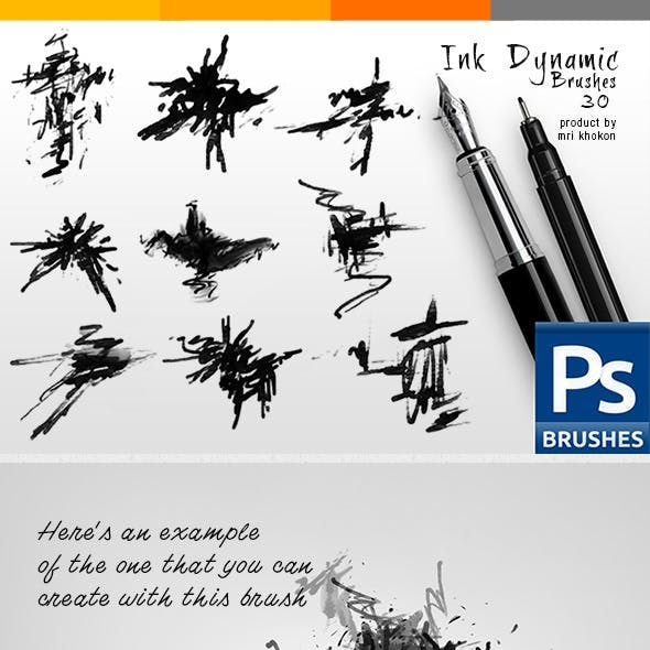 Ink Dynamic Brushes