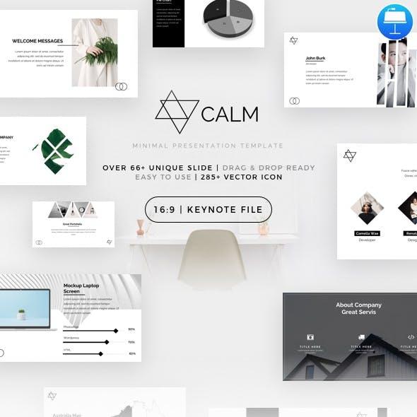 Calm - Minimal Keynote Template
