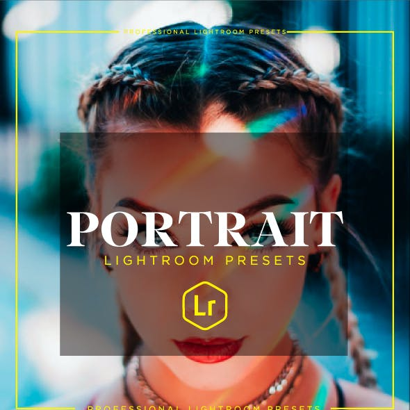 25 Portrait Lightroom Presets