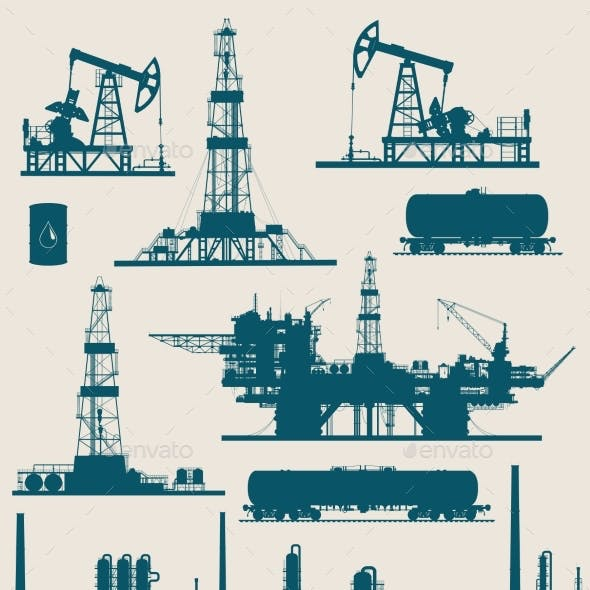 Oil and Gas Industry Set
