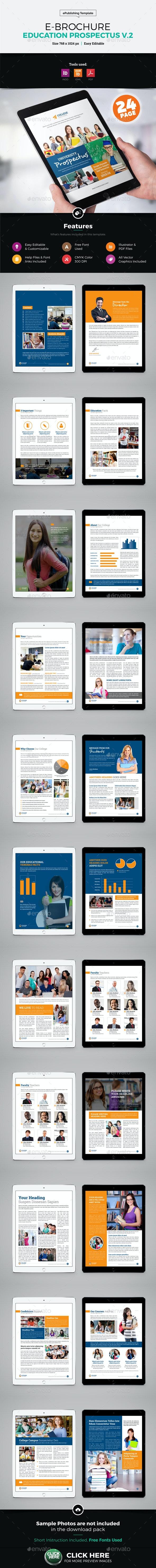 E-Brochure University Prospectus Design v2 - ePublishing