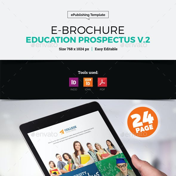 E-Brochure University Prospectus Design v2