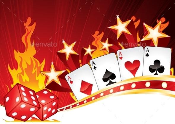Hot Casino - Backgrounds Decorative