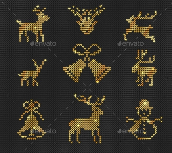 Ugly Sweater Pattern - Christmas Seasons/Holidays