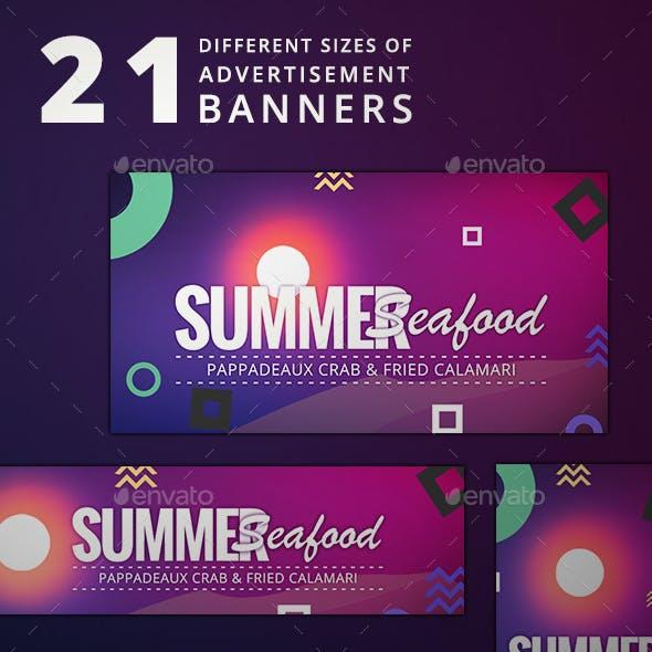 Ad Banner Sets