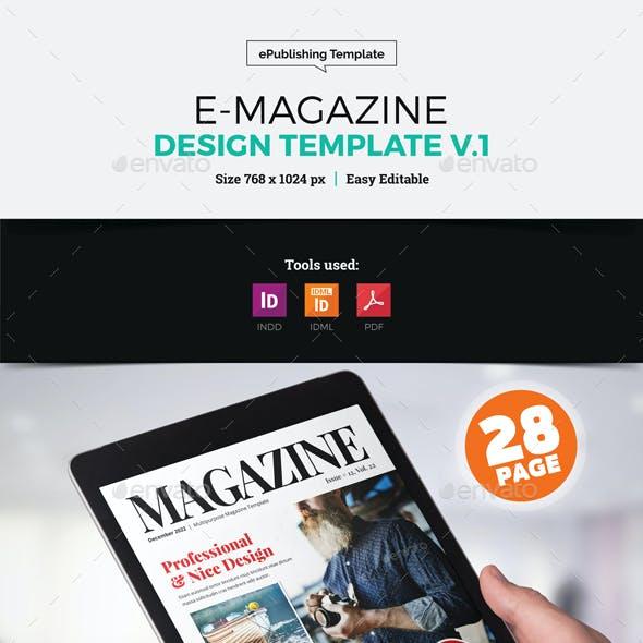 E-Magazine Design v1