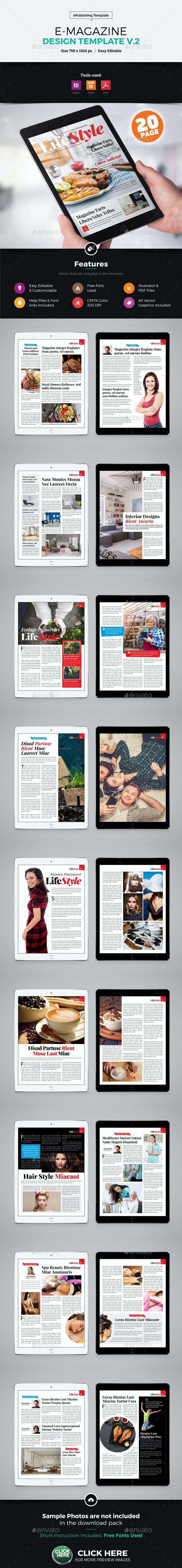 E-Magazine Design v2 - Digital Magazines ePublishing