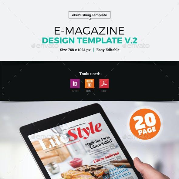 E-Magazine Design v2