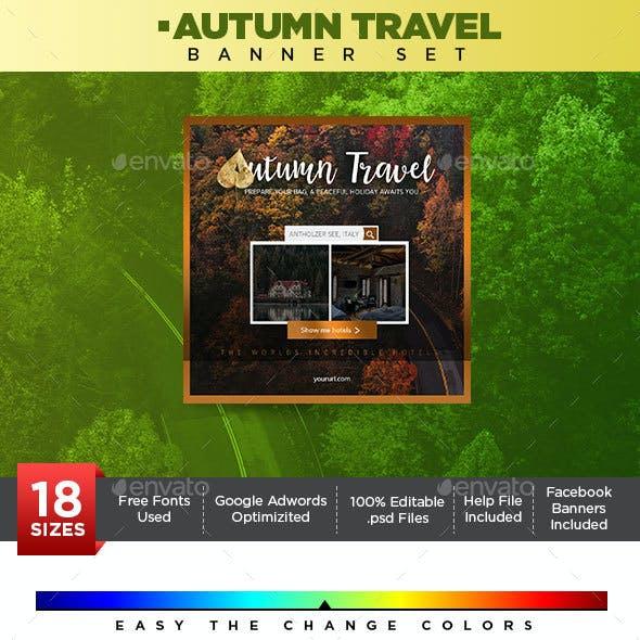 Autumn Travel Banner